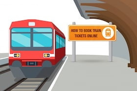 How To Book Train Tickets Online via Online Booking Websites