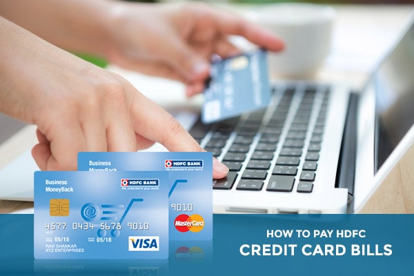 How To Pay HDFC Credit Card Bills