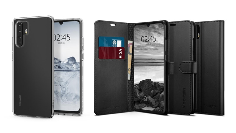 Huawei P30, P30 Pro Design Tipped by Case Manufacturer Spigen