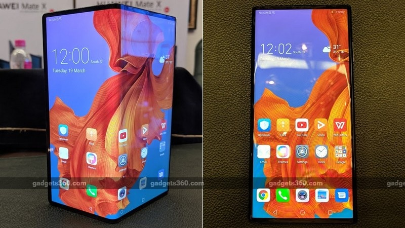 Huawei Mate X 5G Foldable Smartphone Confirmed to Launch in India Later This Year