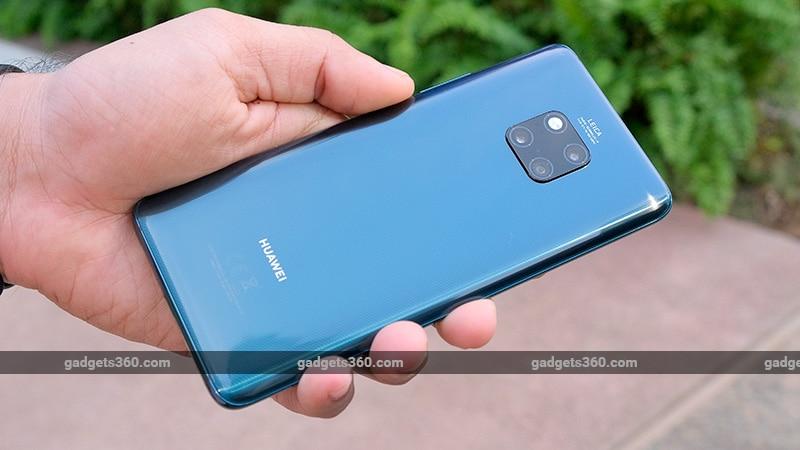Huawei Mate 20 Pro back ndtv Huawei