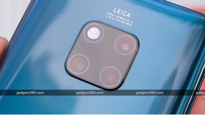 Huawei Mate 20 Pro camera module ndtv Huawei
