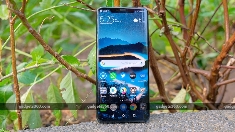 Huawei Mate 20 Pro Starts Receiving Software Update With ViLTE Support, February Security Patch in India