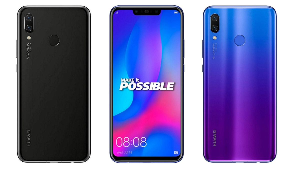 Huawei Nova 3 Software Update Brings ViLTE Support and April Security Patch