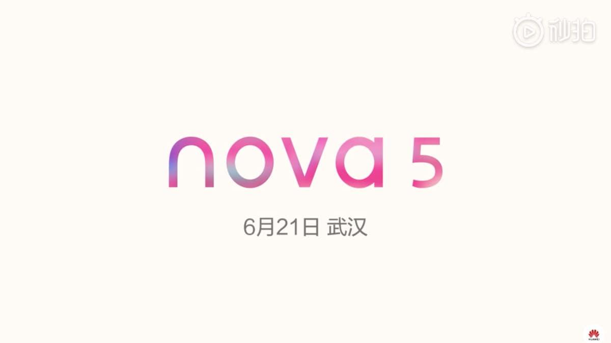Huawei Nova 5 और Nova 5i होंगे 21 जून को लॉन्च