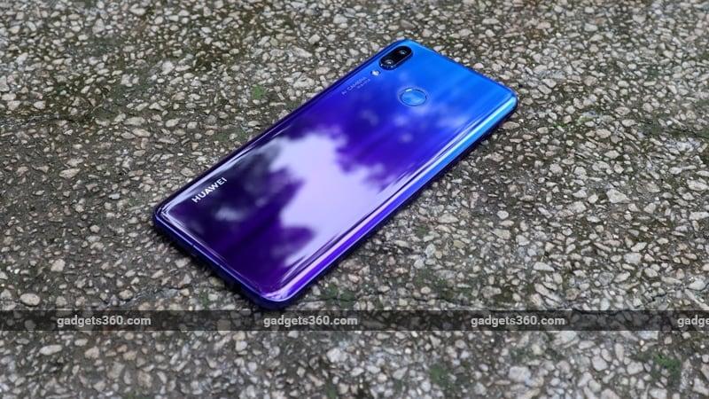 Huawei Nova  3 back ndtv Huawei