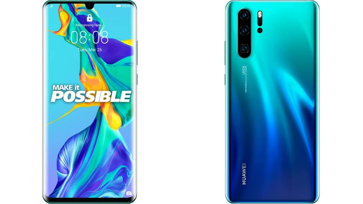 Huawei P30 Pro Starts Receiving Software Update With Camera