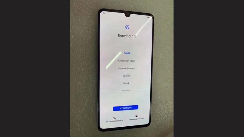 Huawei P30 Pro In-Display Fingerprint Sensor Caught on Video, P30 Live Shot Leaks