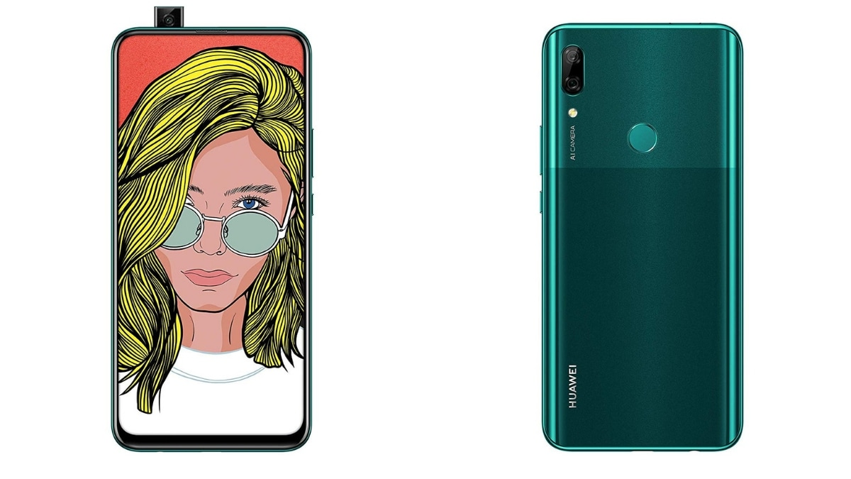 Huawei P Smart Z with pop-up selfie cam announced