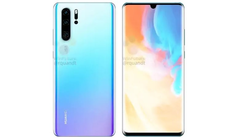 Huawei P30 Pro Reportedly Using a Curved AMOLED Screen From Samsung