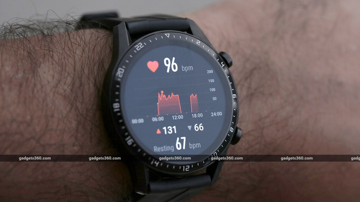 Huawei Watch GT 2 heart rate Huawei Watch GT 2 review