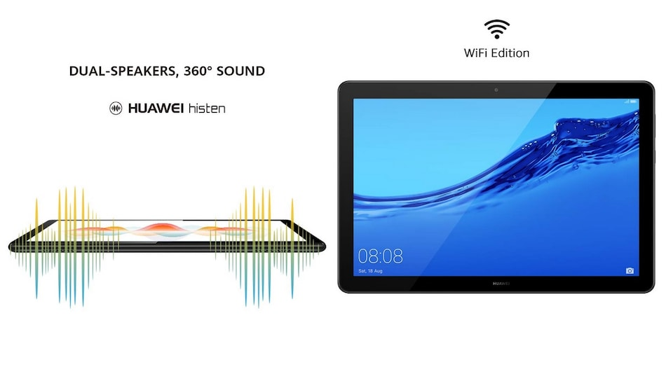 Huawei MediaPad T5 Tablet WiFi Edition Goes on Sale in India via Amazon: Price in India, Offers, Specifications