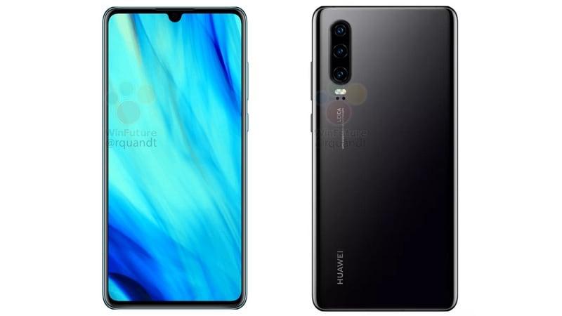 Huawei p30 leak Huawei P30