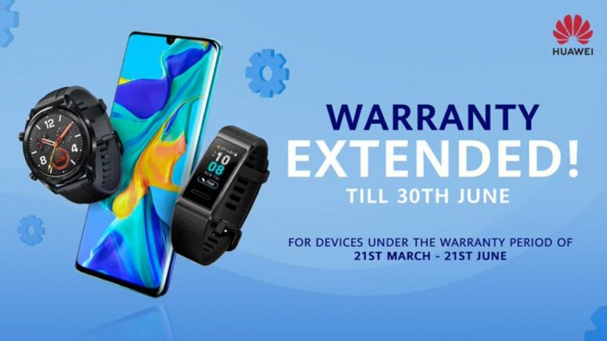 Huawei, Honor Products Get Warranty Extension in India Amid Coronavirus Lockdown