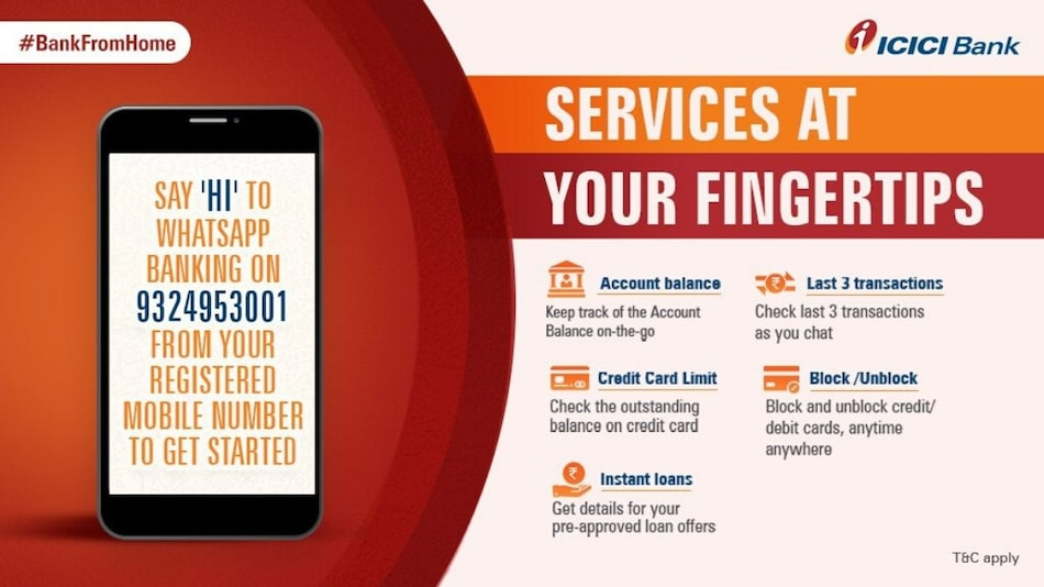 ICICI Bank Launches WhatsApp Banking Service: Here's Everything You Need to Know
