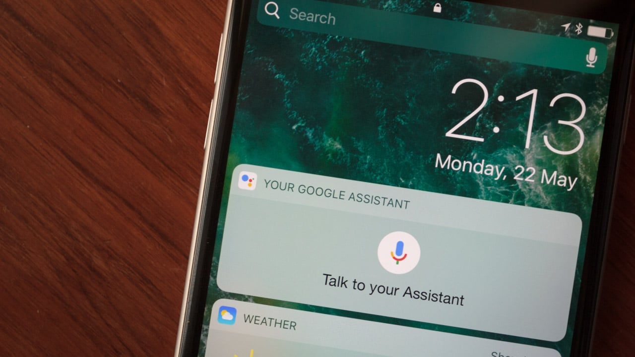 IMG 2143 Google Assistant iPhone