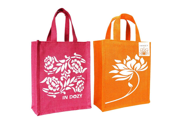 INDOZY Jute Bags for Women Men Girls boy Office Daily use 1611081913682