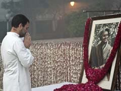 Tributes Paid To Indira Gandhi On 32nd Death Anniversary