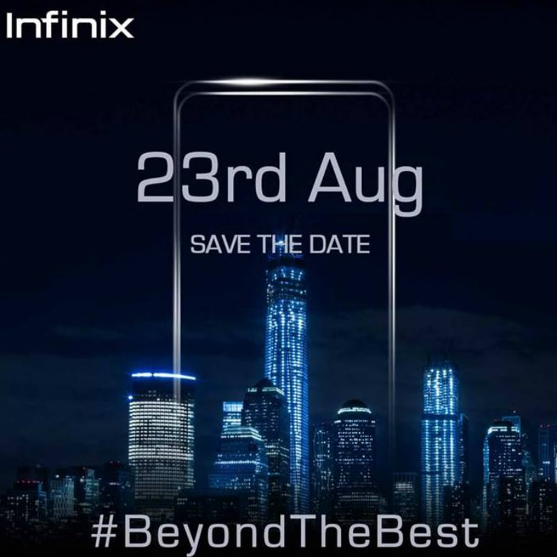Image result for Infinix to Launch Smartphone in India on August 23