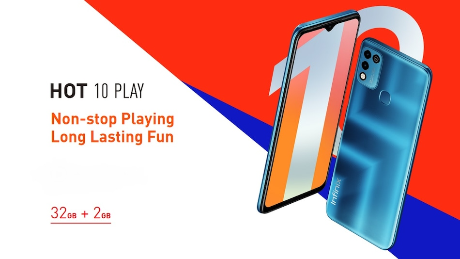 Infinix Hot 10 Play With MediaTek Helio G25 SoC, 6,000mAh Battery Launched: Price, Specifications