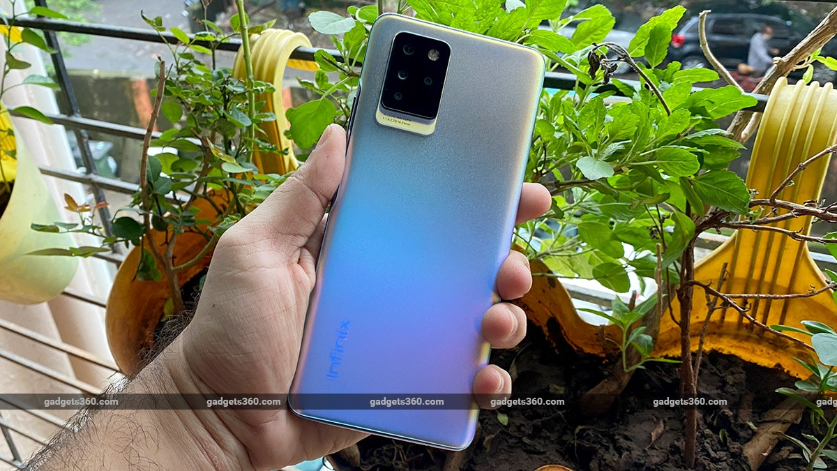Infinix Note 10 Pro back gadgets360 Infinix Note 10 Pro First Impressions