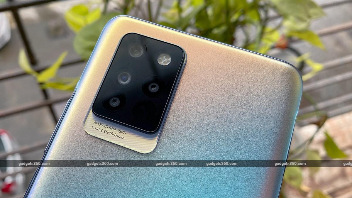 Infinix Note 10 Pro camera module gadgets360 Infinix Note 10 Pro First Impressions