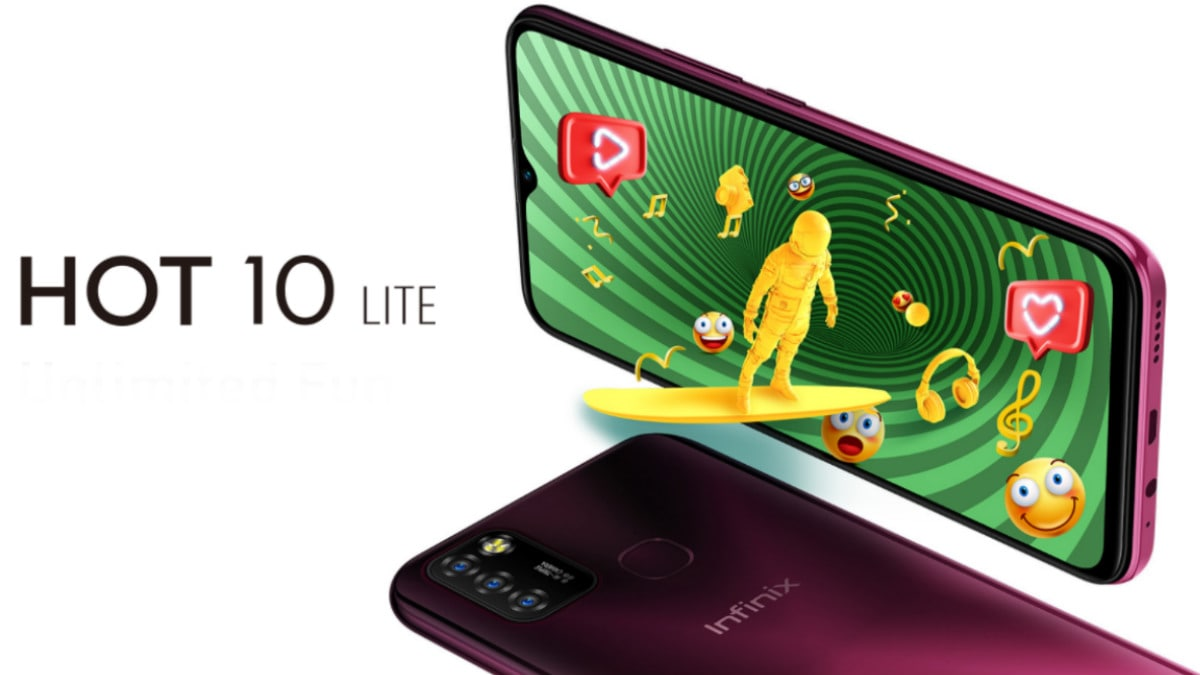 Infinix Hot 10 Lite With MediaTek Helio A20 SoC, 5,000mAh Battery Launched:  Price, Specifications | Technology News