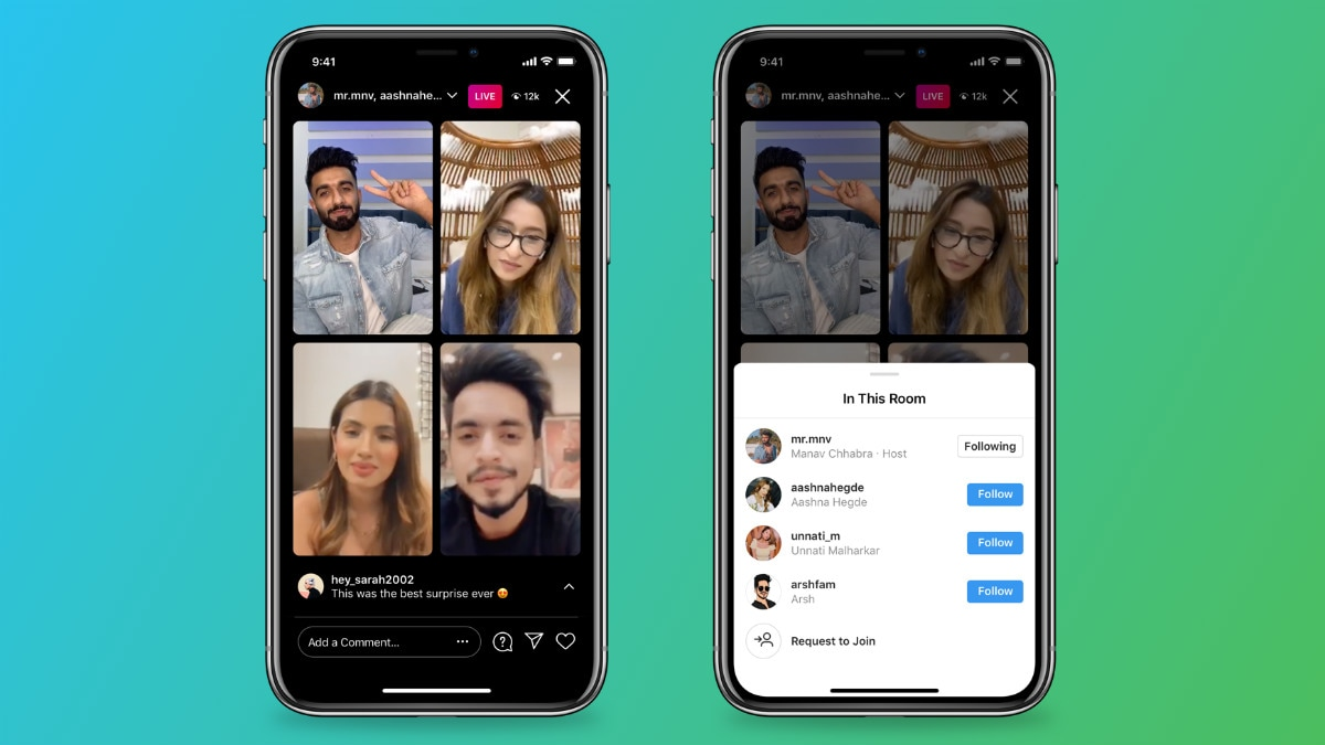 Instagram live rooms intext Instagram Live Rooms