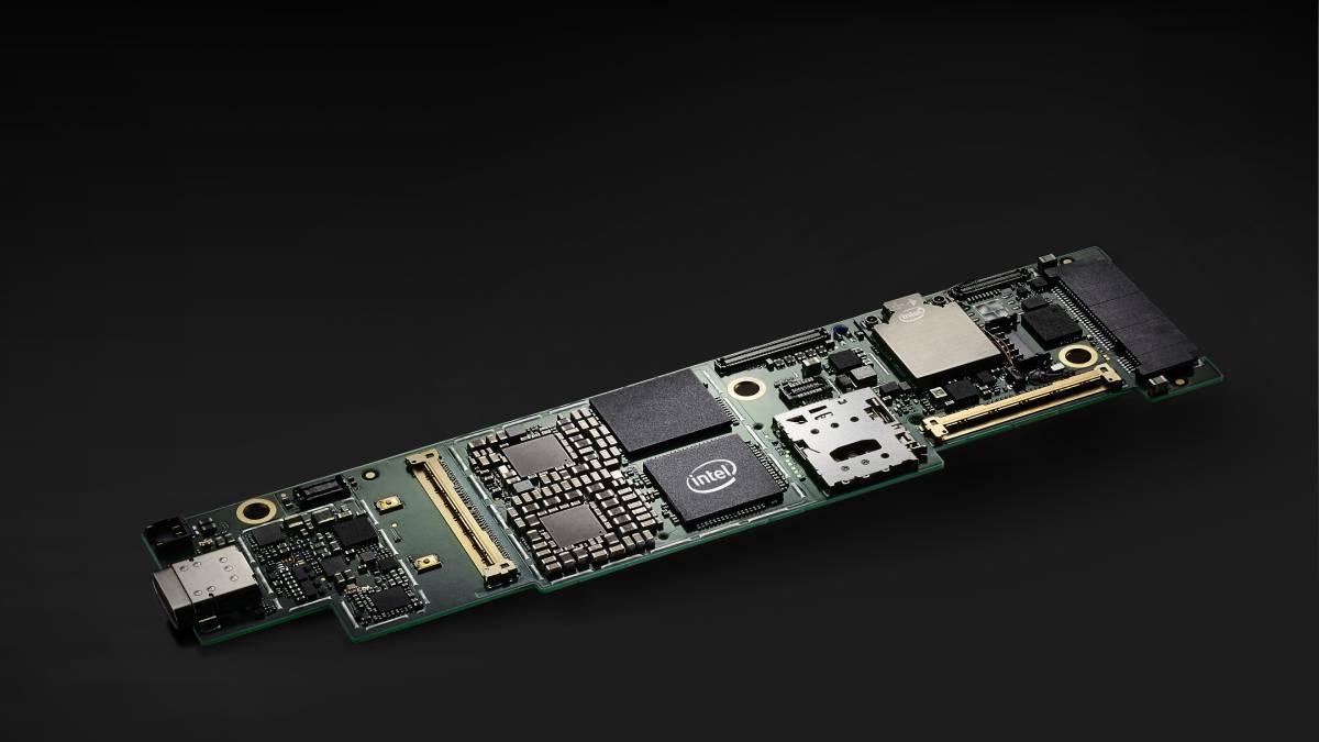 Intel Lakefield motherboard lakefield