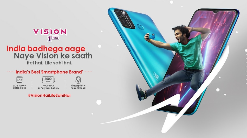 Itel Vision 1 Pro With Quad-Core SoC, Triple Rear Cameras Launched in India: Price, Specifications