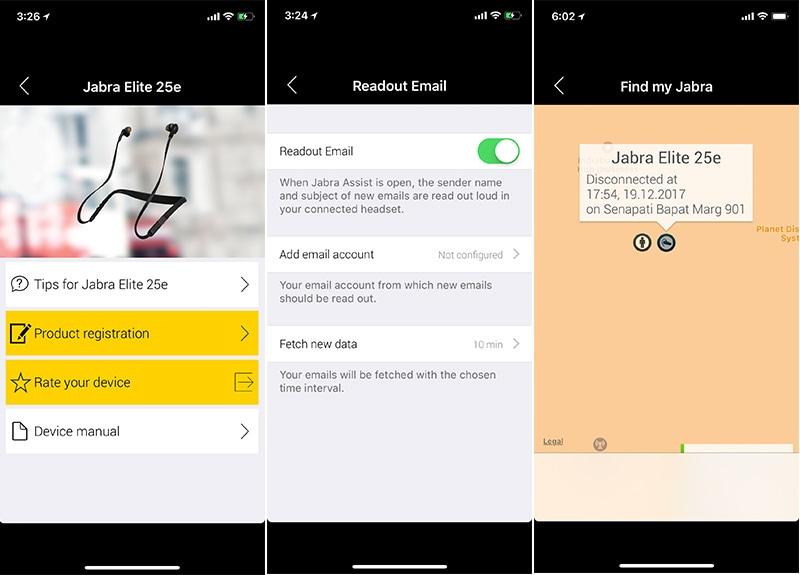 Jabra elite 25e app Jabra