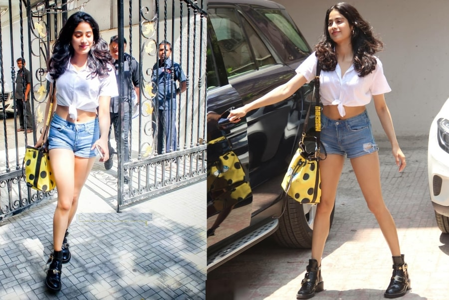 Janhvi Kapoor Super Cool Look For Summer