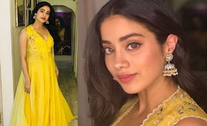 Janhvi Kapoor's Jhumka Obsession: Sparkle With The Best Jhumka Collections