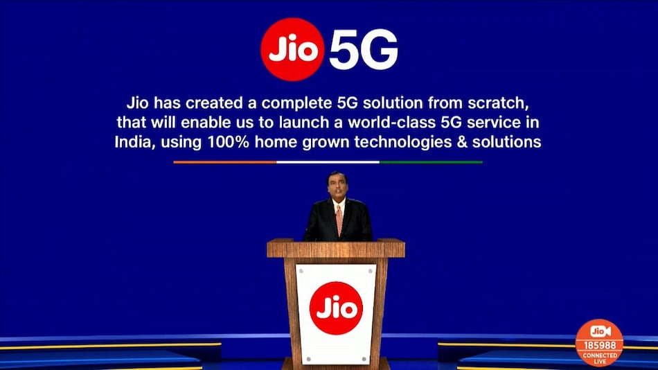 Jio 5G Solution Announced, Testing to Start in India as Soon as Spectrum Is Available