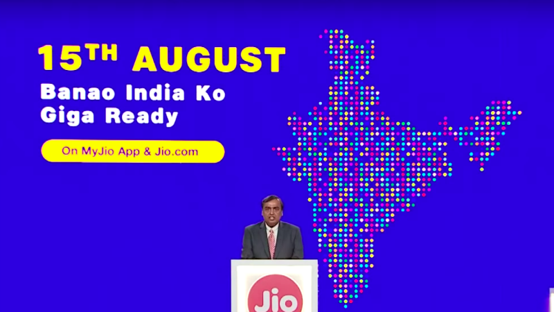 jio gigafiber broadband registrations via myjio jio com on august