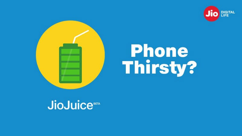 Jio Juice Teased, May Be a Battery Saver App