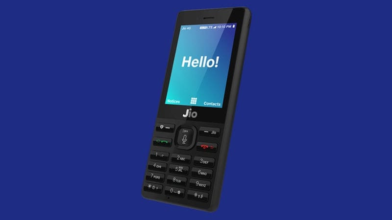 Jio Phone Top Feature Phone in India in Q4 2017: Counterpoint