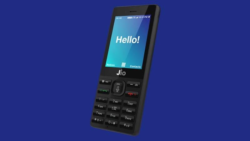 जियो फोन 2017 की चौथी तिमाही में सबसे ज़्यादा बिकने वाला फ़ीचर फोन: रिपोर्ट