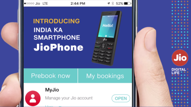 Jio Phone Booking Online MyJio App 2 Jio Phone Bookings Process How to Order