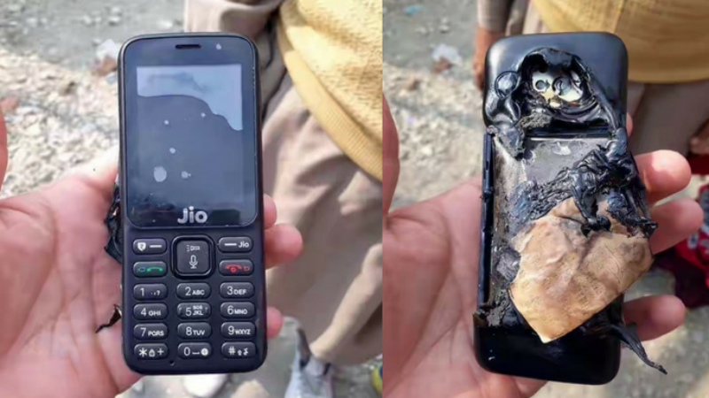 Jio Phone Reportedly Explodes, Company Says Damage Caused Intentionally