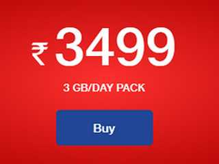 Jio Rs. 3,499 Annual Prepaid Plan With 3GB Data Per Day Launched