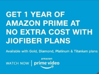 Jio Fiber Users to Get Free One-Year Amazon Prime Subscription: All Details