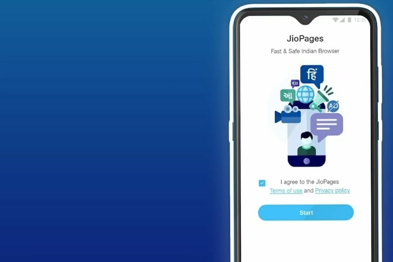 Reliance Jio Launches JioPages Web Browser With Encrypted Connection Support