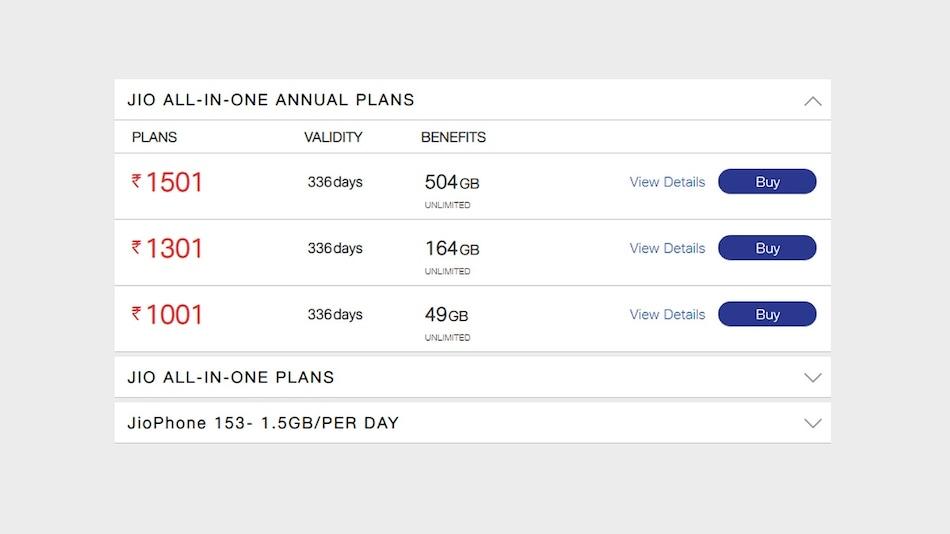 Jio Phone यूज़र्स के लिए लॉन्च हुए तीन नए ऑल-इन-वन सालाना प्लान, जानें फायदे