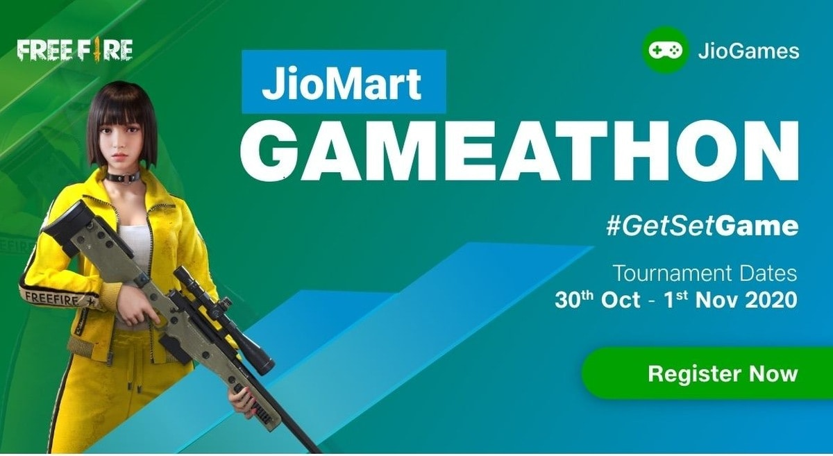 Reliance Jio to Host JioMart Gameathon Free Fire Esports Tournament From October 30