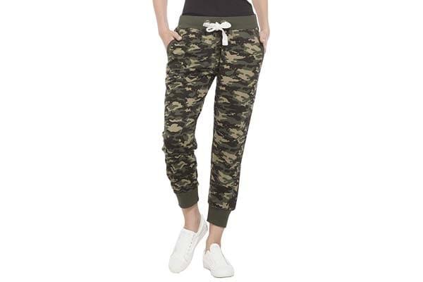 Alan Jones Camouflage Cotton Women's Joggers Track Pants