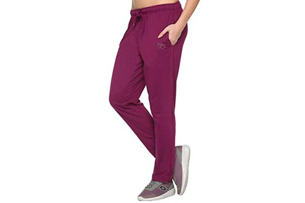 CUPID Regular FIT Women Cotton Trackpants