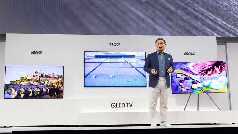 Samsung Unveils 2018 4K QLED TVs and More