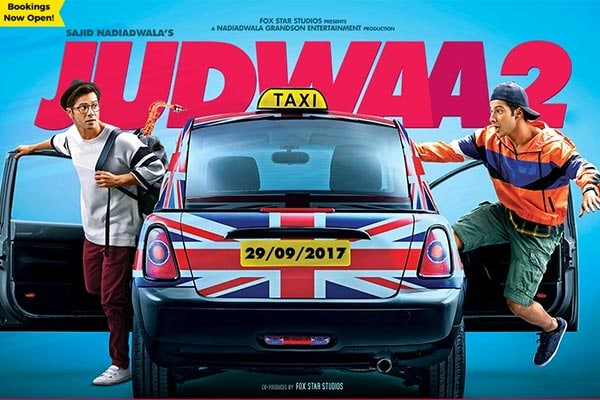 Judwaa 2 Movie Ticket Booking Offers: Judwaa 2 Cast, Release Date, Songs, Trailer, Movie Ticket Bookings, Reviews and More