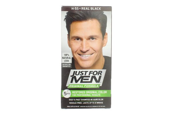 Just for Men Later in Hair Color H 55 Real Black 1 Each 1613591515149